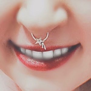 🆕💫925 SS Shooting Star Septum Ring/Hoop💫